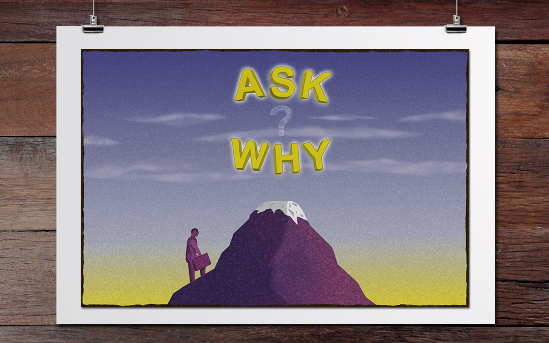 ask why illustration